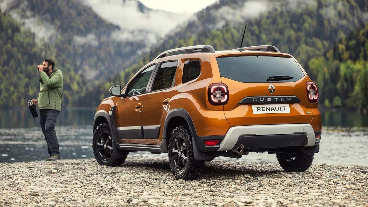 Обновленный Renault DUSTER фото екстер'єру 4