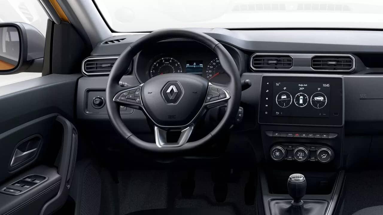 Обновленный Renault DUSTER  фото интерьера 1