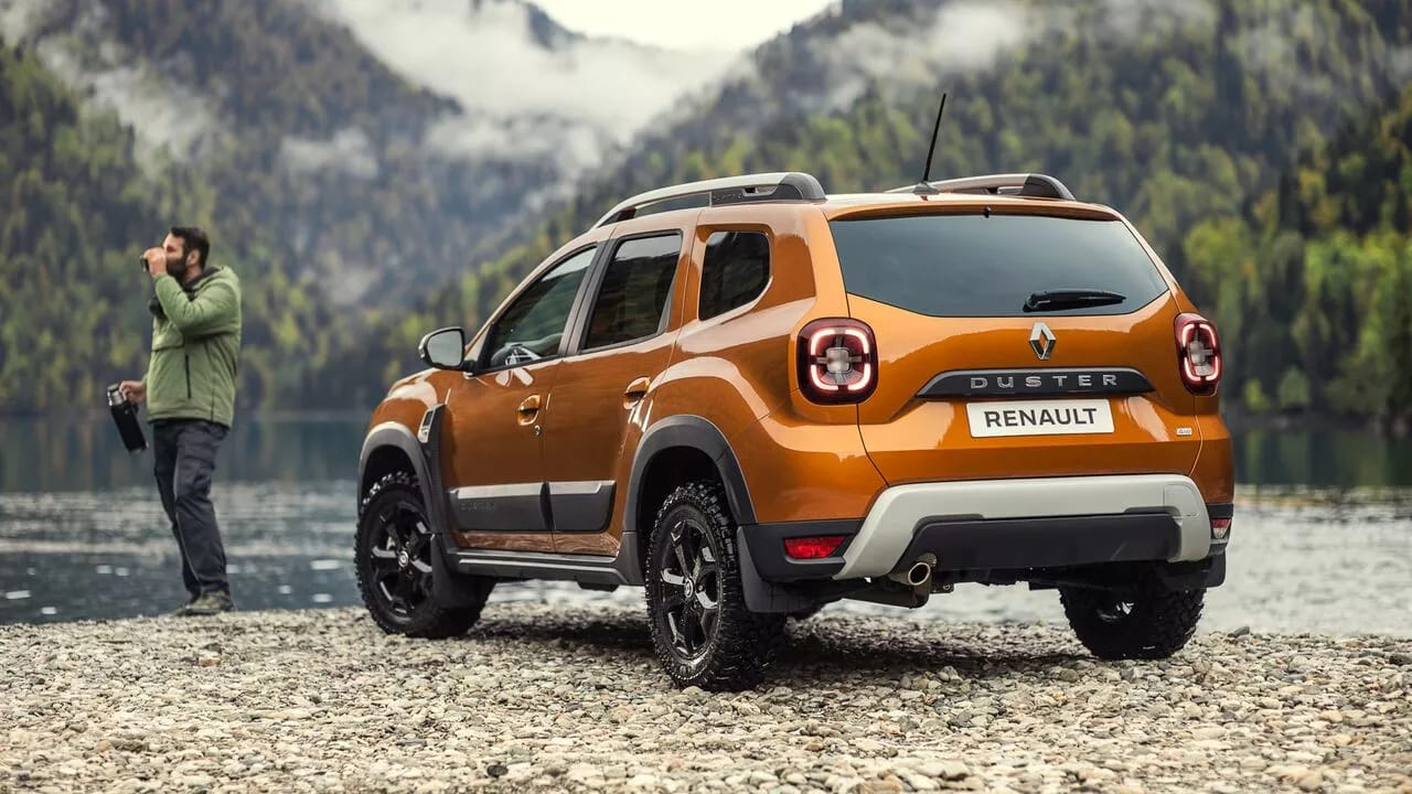 Оновлений Renault DUSTER фото екстер'єру 4