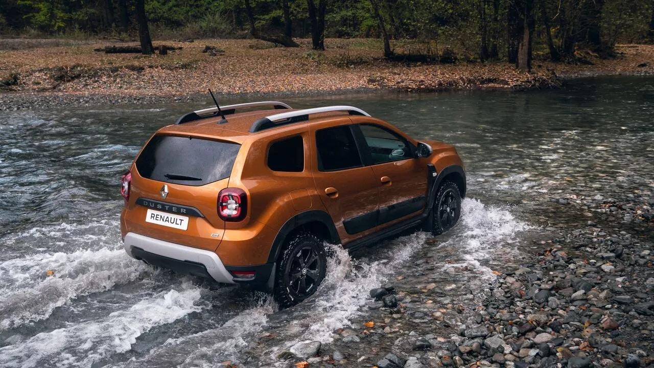 Оновлений Renault DUSTER фото екстер'єру 2