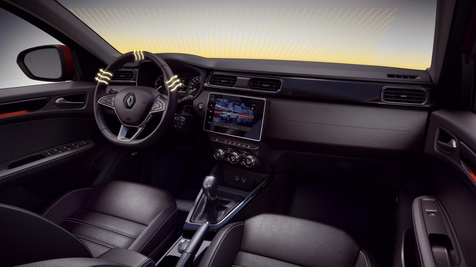 НОВИЙ Renault ARKANA  фото интерьера 1