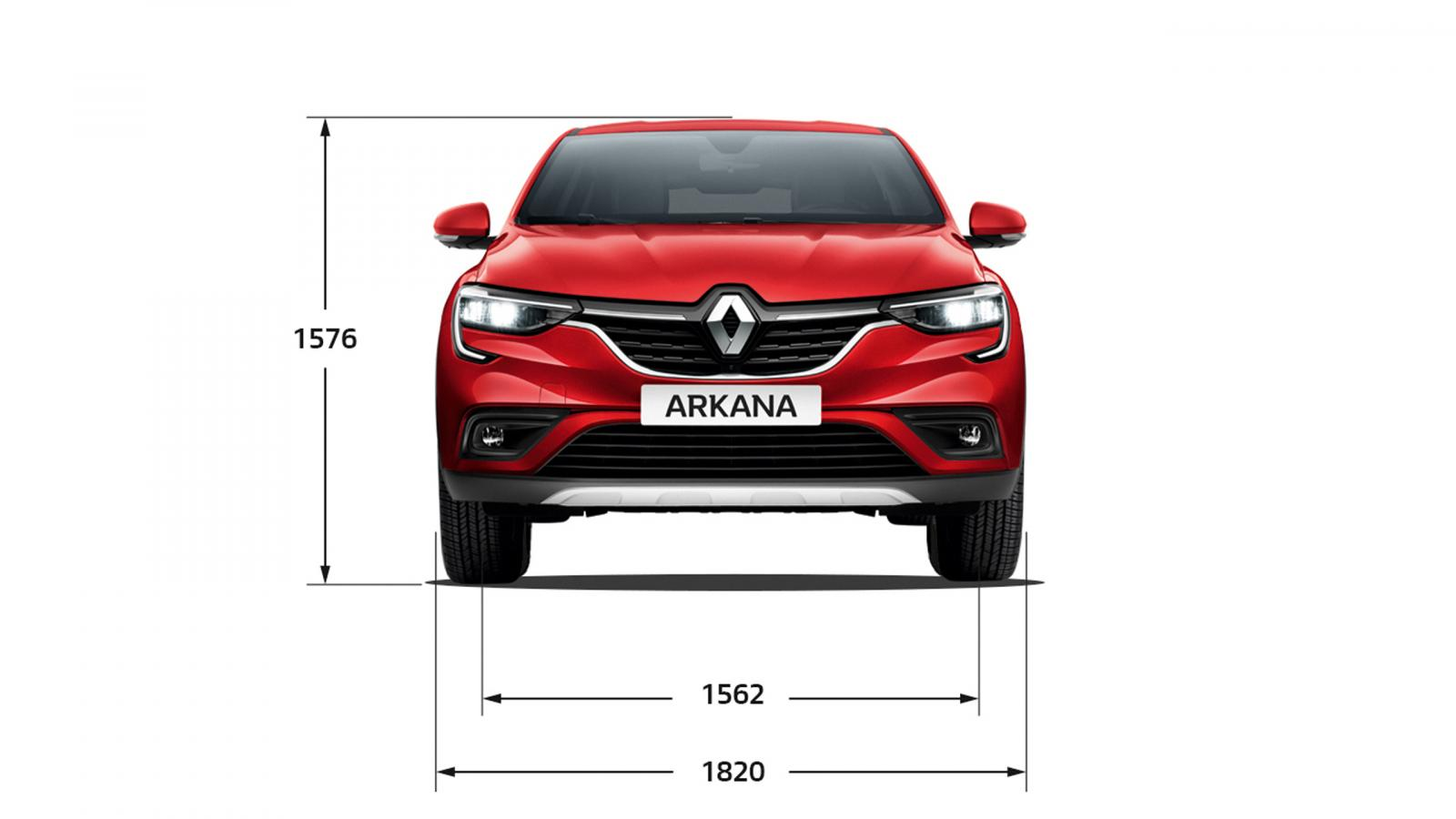Висота НОВИЙ Renault ARKANA