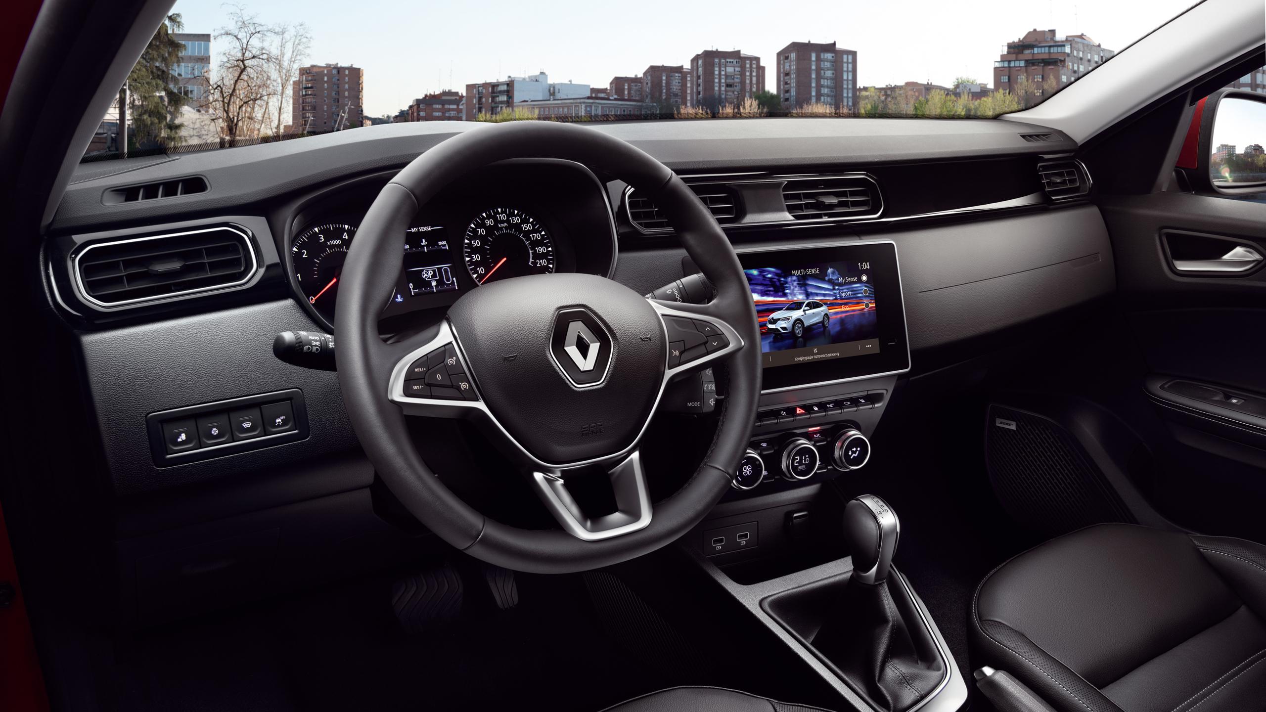 НОВИЙ Renault ARKANA  фото интерьера 6