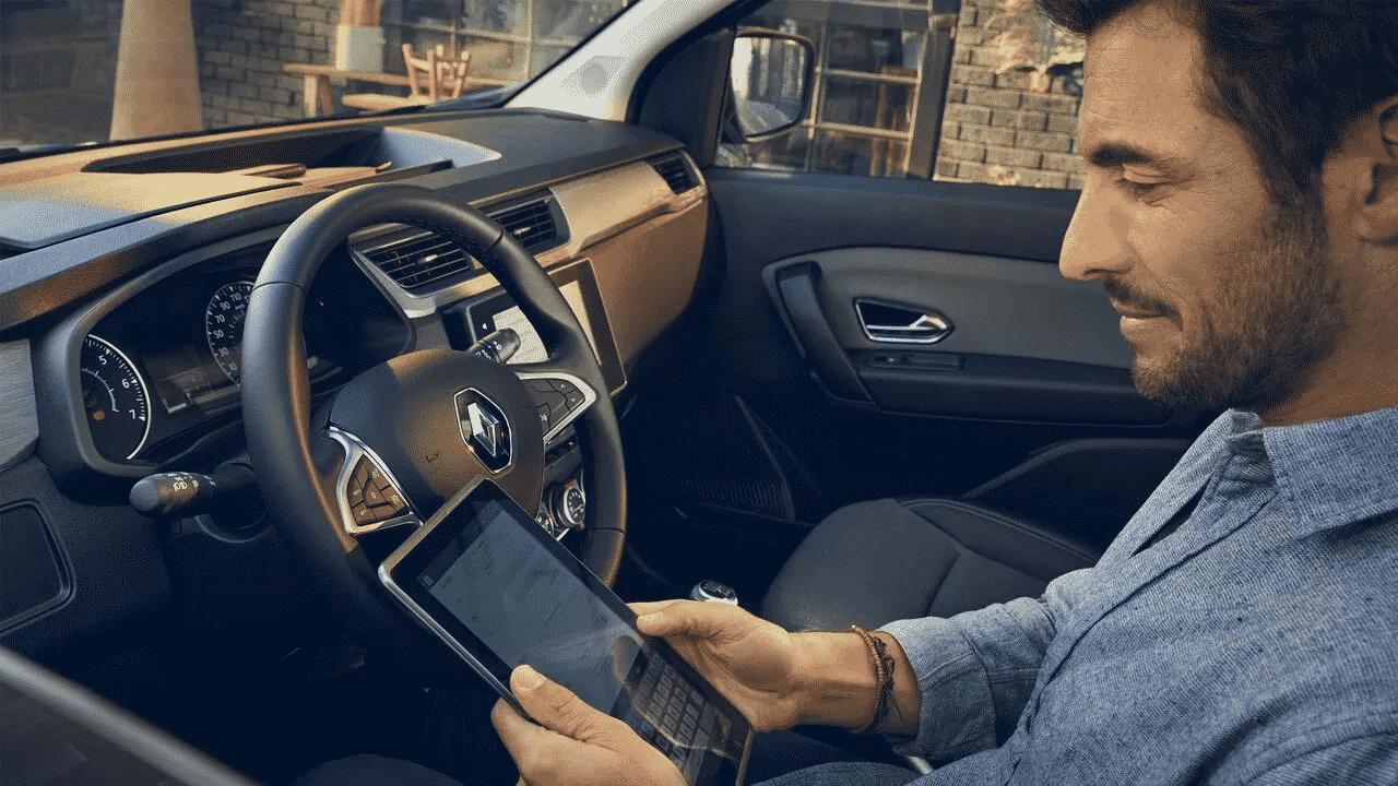 Новий Renault EXPRESS  фото интерьера 3