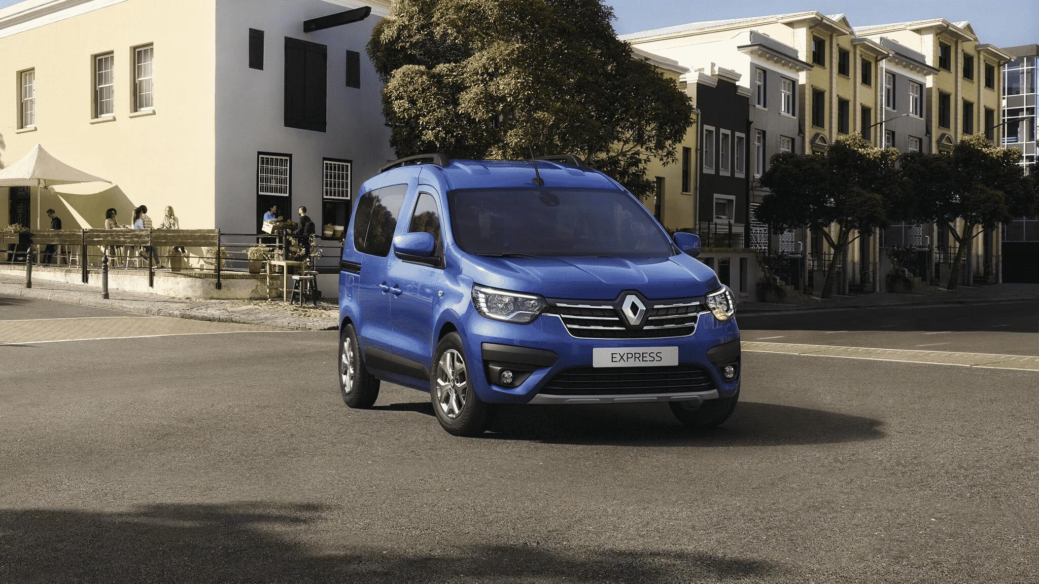 Новий Renault EXPRESS фото екстер'єру 2