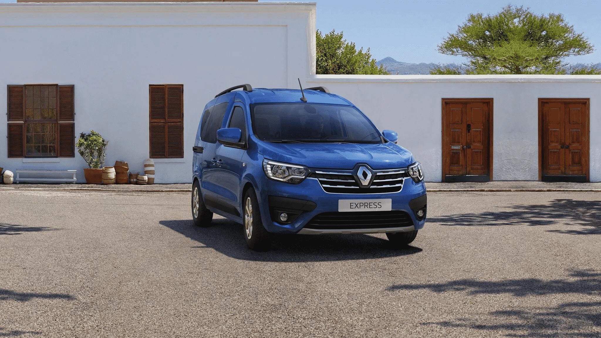Новий Renault EXPRESS фото екстер'єру 1
