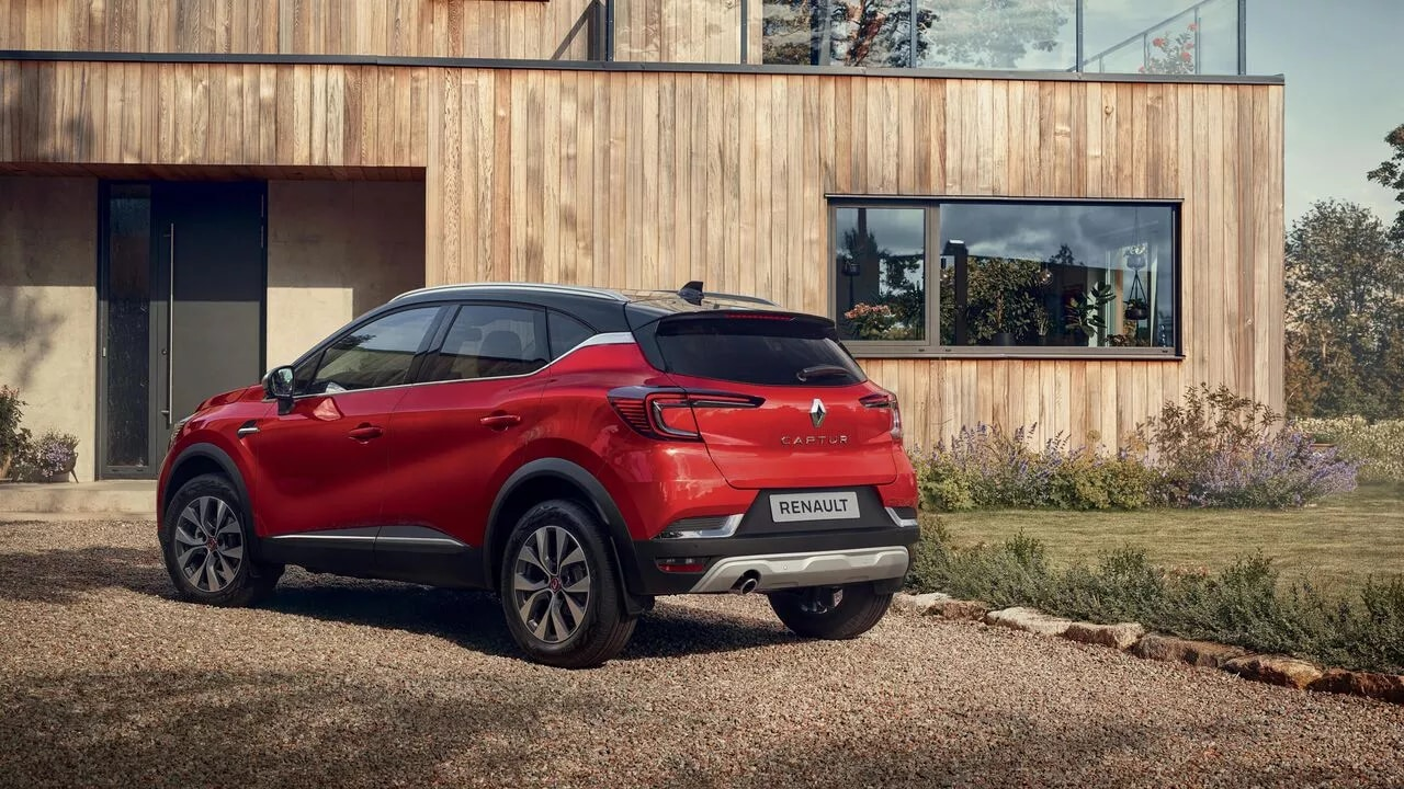 Новый Renault CAPTUR фото екстер'єру 10