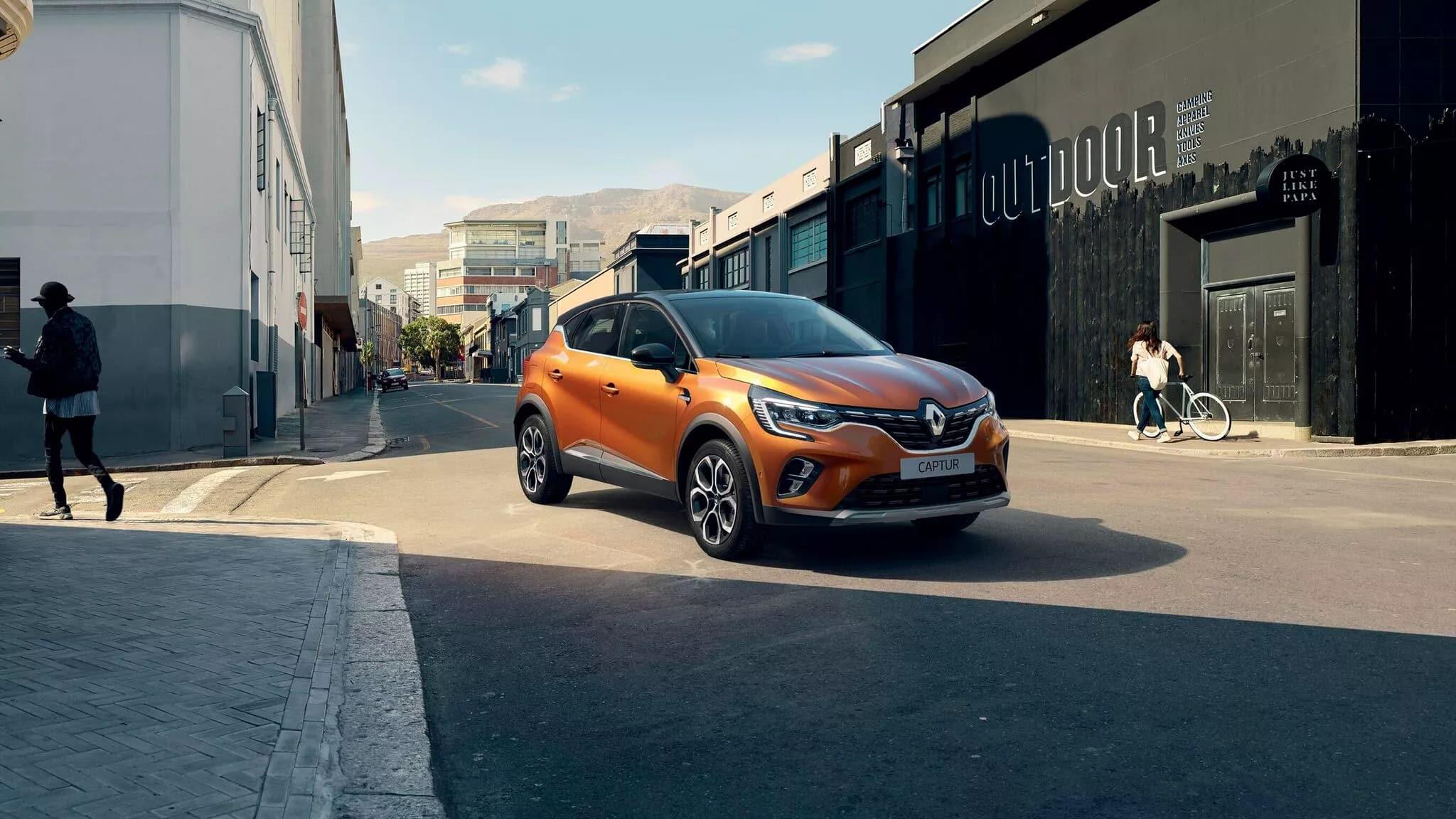 Новый Renault CAPTUR фото екстер'єру 6