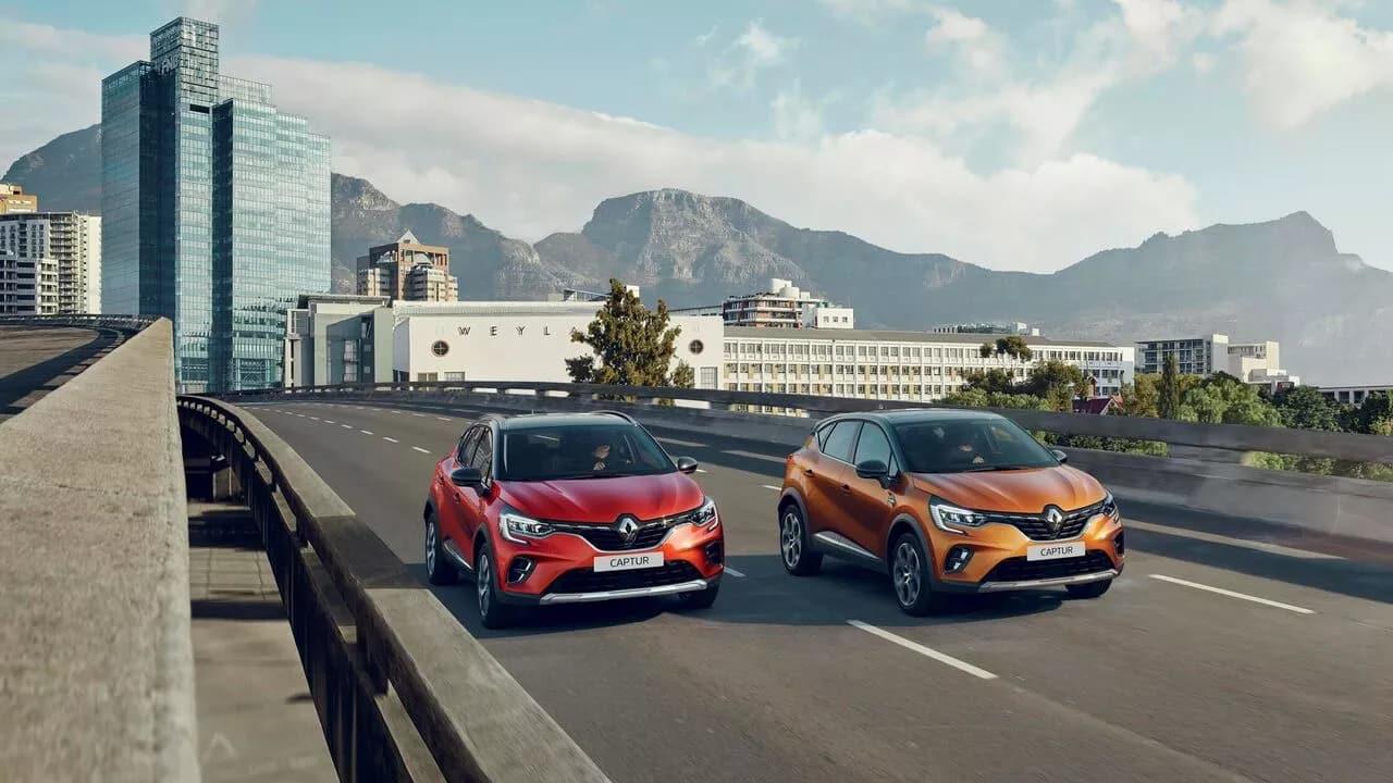 Новый Renault CAPTUR фото екстер'єру 7