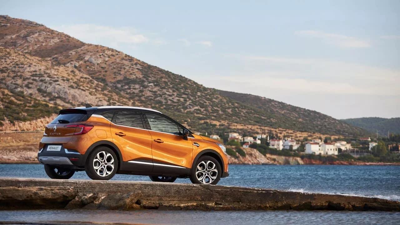 Новый Renault CAPTUR фото екстер'єру 9