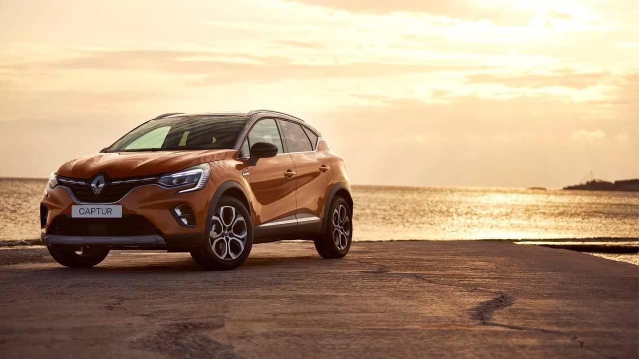 Новый Renault CAPTUR фото екстер'єру 3