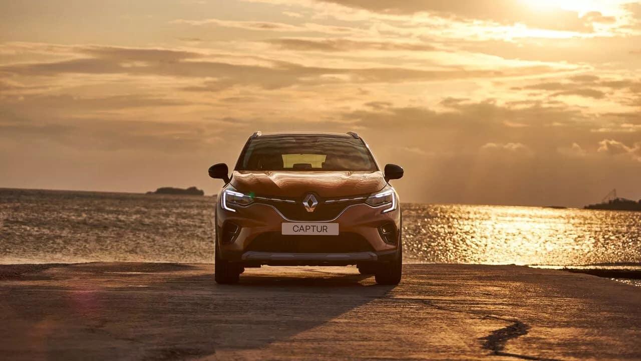 Новый Renault CAPTUR фото екстер'єру 2