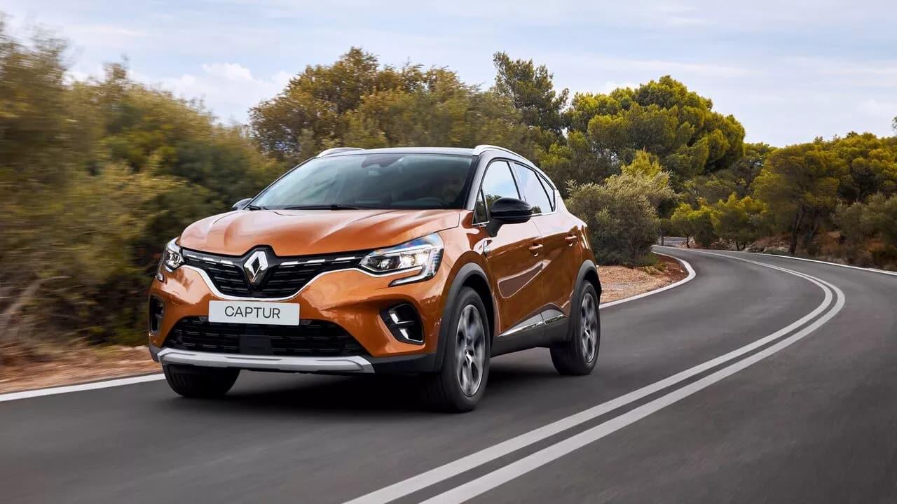 Новый Renault CAPTUR фото екстер'єру 1